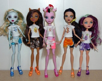 shirt, tunic, clothes Monster High, Ever After High.