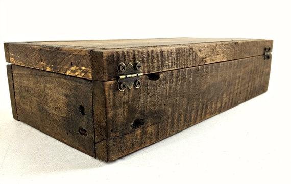 Like this item?  sc 1 st  Etsy & Built on Order: Pocket Knife Storage Case Divided Wooden Box