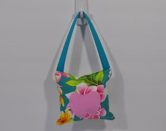 Tooth Fairy Pillow - Floral with Pink Tooth
