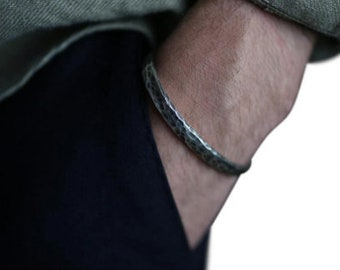 Men's Sterling Silver Cuff