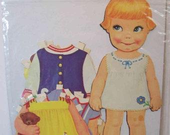 Vintage Pixie paper doll  1968