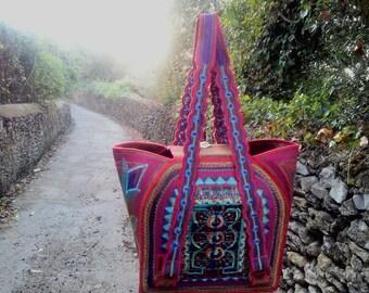 handpainted handbag