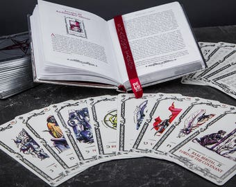 Tarot of Shadows - Special Edition. A Unique System of Tarot Cards (78 Cards Deck)