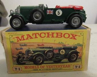 Matchbox Yesteryear Y5 Bentley