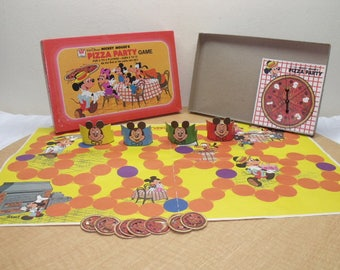 Mickey Mouse's Pizza Party Board Game