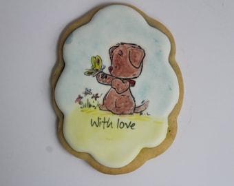 teddy bear cookies- one dozen