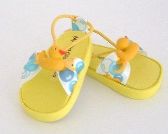 Ducky Sandals