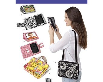 Sewing Pattern for E-Book Covers & Carry Case for Tablets,  Simplicity 1630, 8 x 10 Tablet Carry Case, E-Book Reader Cover