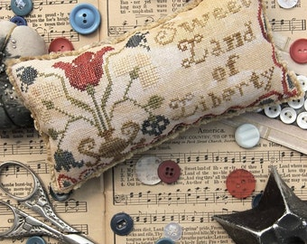 Sweet Land of Liberty : Cross Stitch Pattern by Heartstring Samplery
