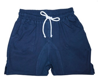 Indigo Natural Dye Shorts