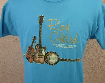 Size L (44) ** Dated 1992 Roy Clark Shirt (Single Sided)