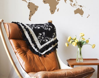 World map wall decal with 60 marking pins world map decal world map wall decal with 60 marking pins world map decal medium a0037 gumiabroncs Image collections