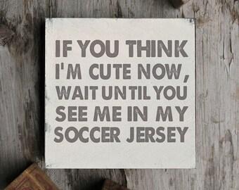 Soccer Wall Sign, Soccer Sign, Soccer Decor, Soccer Baby Shower, Soccer Girl, Soccer Boy, Soccer Baby, Soccer Decor, Soccer Gift