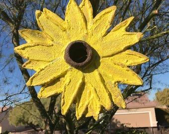 Birdhouse; Sunflower