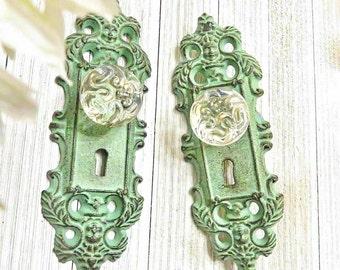 One Curtain Tie Back, Curtain Tieback, Door Plate, Door Knob Decor, Door  Knob , Antique Door Handle, Door Handles, Shabby Chic Door Knob
