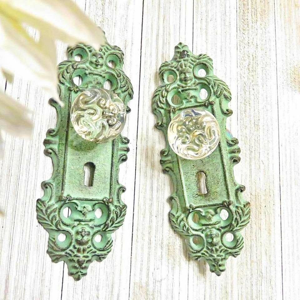 Delicieux One Curtain Tie Back, Curtain Tieback, Door Plate, Door Knob Decor, Door  Knob , Antique Door Handle, Door Handles, Shabby Chic Door Knob From ...