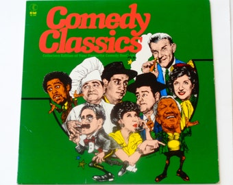 Comedy Classics - Lily Tomlin  Groucho Marx  Richard Pryor  Flip Wilson  George Carlin - K-Tel Records 1981 - Vintage Vinyl LP Record Album