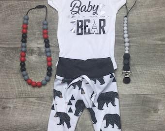 Baby bear newborn outfit