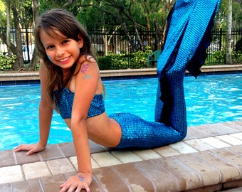 FULL SET  any Mermaid Tail any  Swim Suit (top and bottom), and kids Monofin