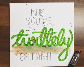 Mum, You're Turtlely Brilliant - Mother's Day Card