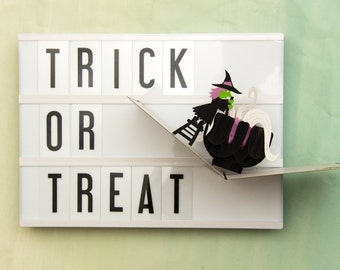 Halloween Witches Brew Pop Up Card, Happy Halloween Card, Trick or Treat Card, You've Been Boo'd Card, Lovepop
