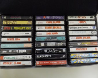 Assorted Classic Rock/Misc Tape Cassettes