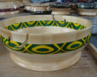 Large Wooden Yarn Bowl