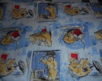 MadieBs Cute Paddington Bear Travel or Toddler Pillowcase  Custom Made