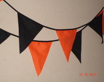 HALOWEEN FABRIC BUNTING ( 30ft )