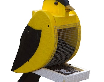 Amish Made Goldfinch Bird Feeder-FREE SHIPPING