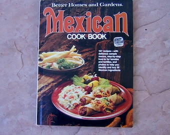 Mexican cookbook etsy mexican cook book better homes and gardens mexican cook book 1983 vintage mexican cookbook forumfinder Gallery