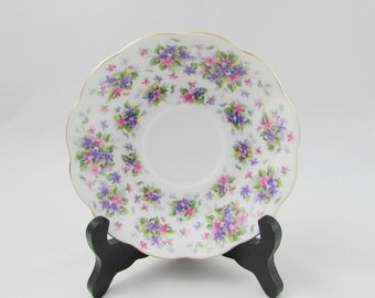 "Royal Albert Orphan Saucer, Nell Gwynne Series ""Richmond"", Replacement Saucer, Saucer ONLY, No Tea Cup"