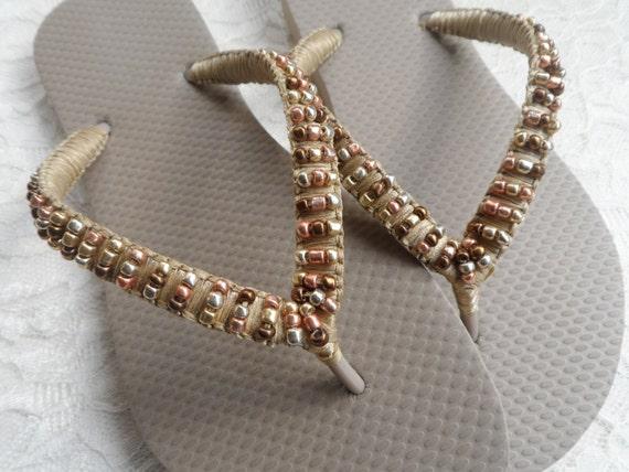 475e0d4ca241 ... Bridesmaids Sandals Weddings Summer Bridal Flip Shoes Pearls Flip Flops  Flops Summer Sandals AqxwnOSx4U ...