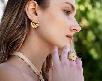 Labyrinth 180ᵒ Earrings