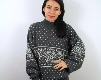Sale Vintahe Wool Sweater