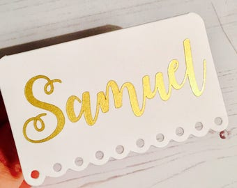 Wedding Name/Place Cards