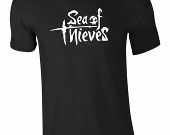 Sea of Thieves Gaming T-Shirt - Gaming Tee - All Sizes