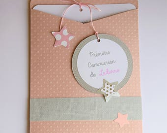 Do share communion grey and dusty pink with stars