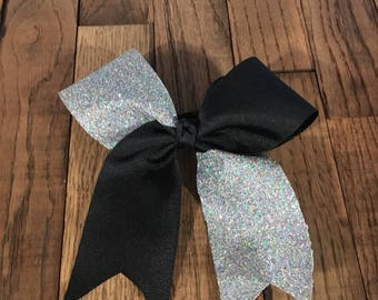 Tick tock sparkle bow