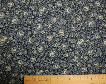 Calico Fabric Vintage Quilting Blue VIP Cranston
