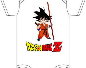 ON SALE Daddys dragonball z Gerber onesie you pick size newborn / 0-3 / 3-6 / 6-12 / 18 24 month
