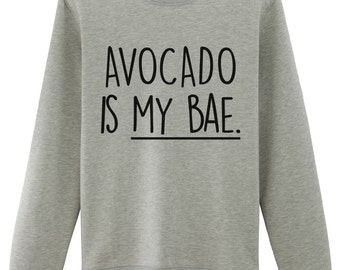 Avocado, Avocado Sweater, Avocado Is My Bae Sweater - 1235