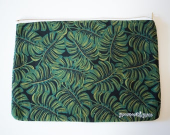 Palm Leaves Laptop Case