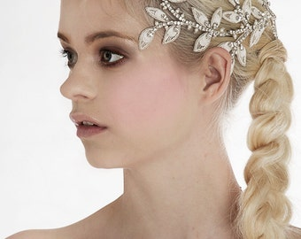 Bridal hair accessories / headpiece / hair vine with crystals