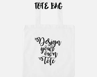 Tote bag 3 sizes chose the design from my prints collection or have me make one for you, customize your own unique gift