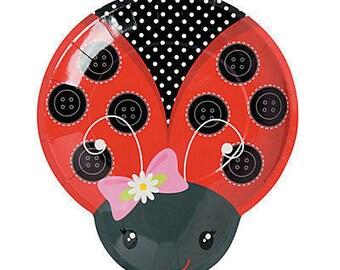 My Beautiful Ladybug lunch plate  / ladybug theme /