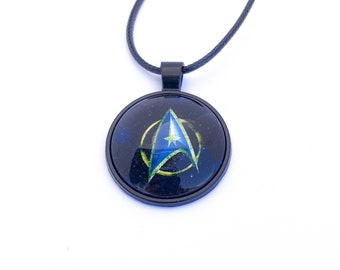 Star Trek Inspired Comics Hero Necklace