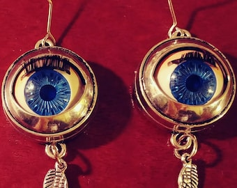 Winged Eyeball Earrings