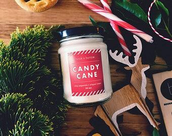 CANDY CANE - Jam Jar Candle