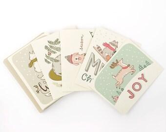 10 Assorted Christmas Cards- Set #2